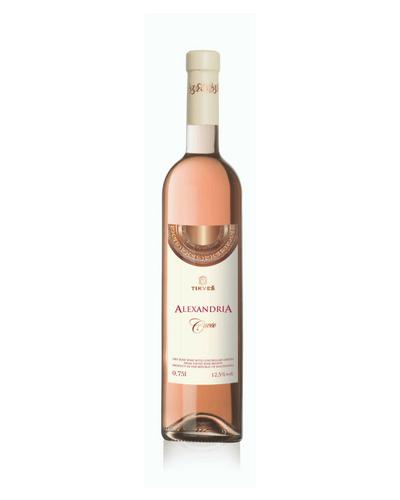 macedonische wijn rose alexandria