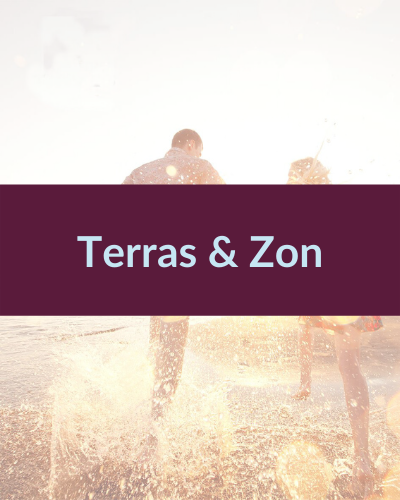 Terras & zon